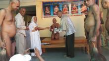 MD Shafeek Khan honoured at Kundalpur
